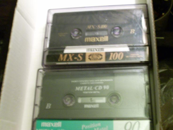0040 500 ft a metal cd 90 es , és a legendás cobalt fém-müa kompozit kazetta testü csucsMETÁL a maxeltöl 900 ft mx-s100perces