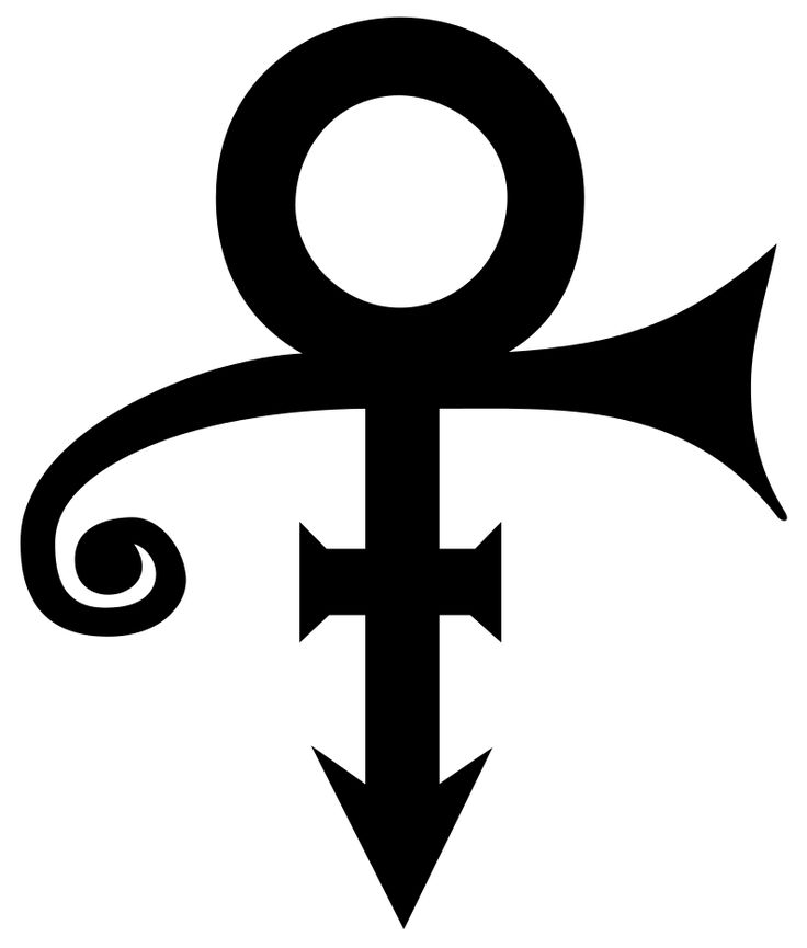 The Prince 'logo' - also known as 'love symbol #2'. It's with great sadness that we finally get around to writing about it after the singer's untimely death.