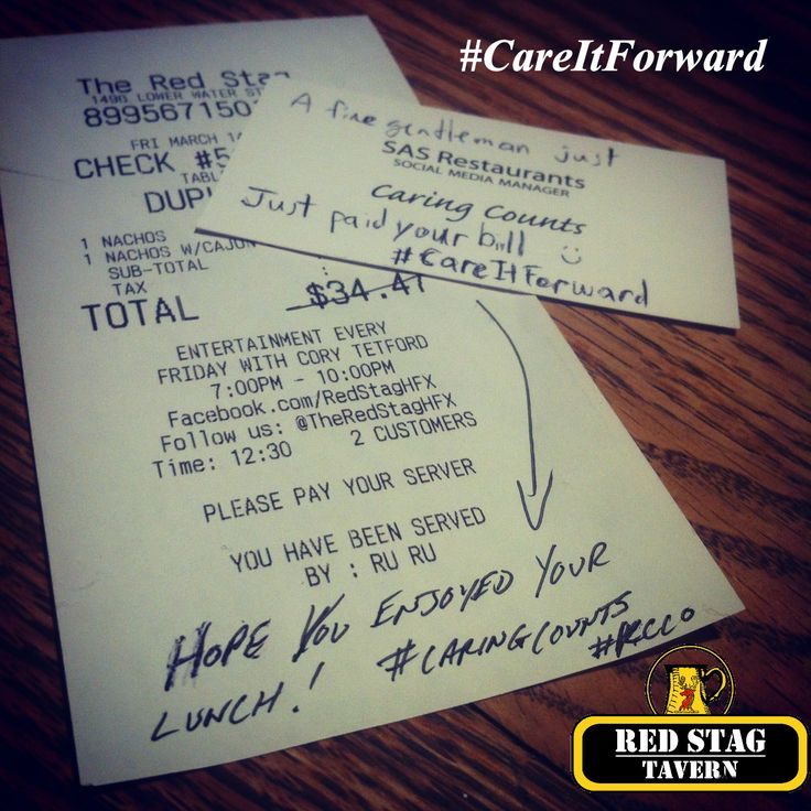 Another #CareItForward from our friend Evan!