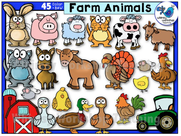 Free farm animal clipart for teachers - photo#30