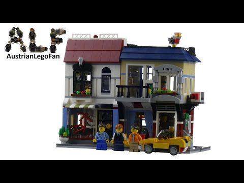 Lego Creator 31026 Bike Shop & Cafe - Lego Speed Build Review — Яндекс.Видео