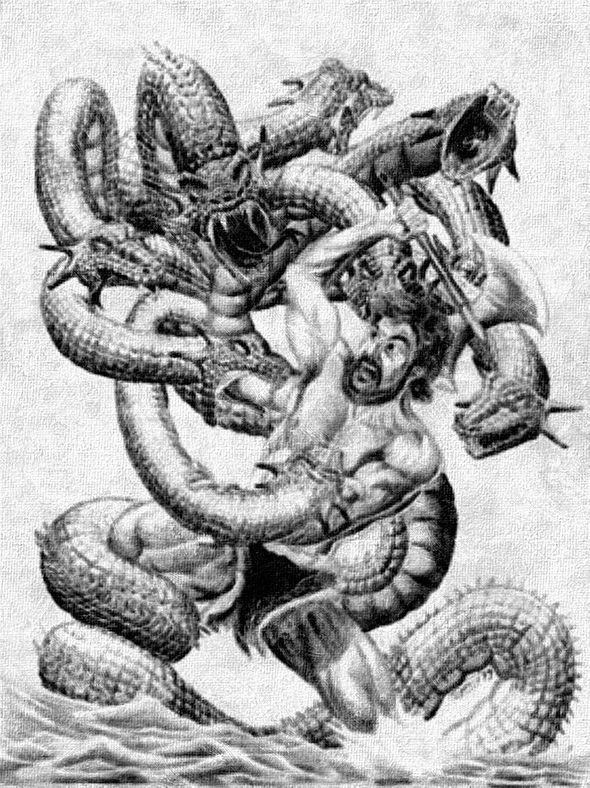 79 Best Hercules Labours Lernean Hydra Images On Pinterest