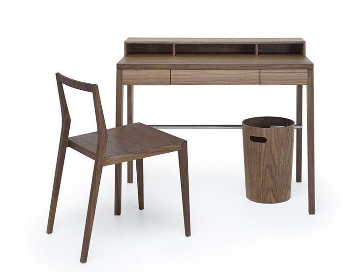 Wooden secretary desk COMPACTUS by MINT FACTORY