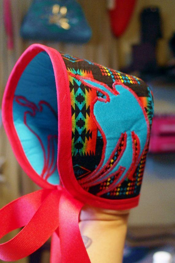 Rez Baby bonnet 6 to 12 months by REZHOOFZ on Etsy