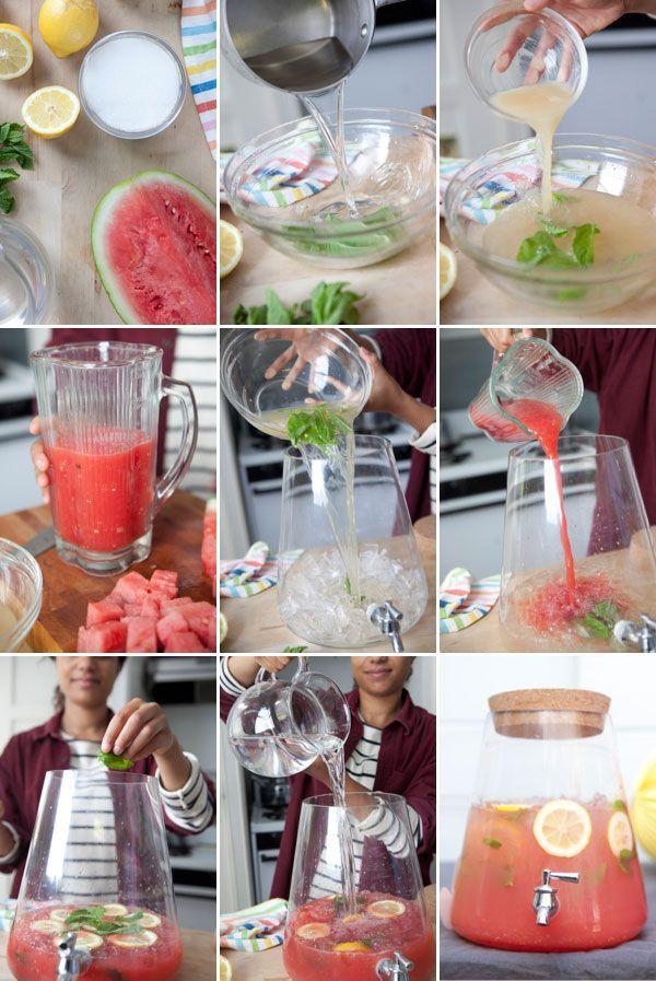 Watermelon Mint Lemonade | 20 Unconventional lemonade recipes