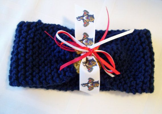 How adorable!  Florida PANTHERS Hockey Fans Handmade Baby Headband by ZZsTeamTime