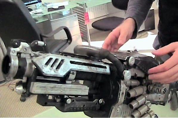 Nerf machine gun rapid fire hack