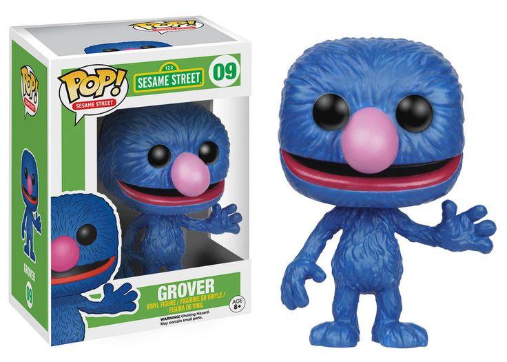Sesamstrasse POP! TV Vinyl Figur Grover 9 cm  Sesamstraße - Hadesflamme - Merchandise - Onlineshop für alles was das (Fan) Herz begehrt!