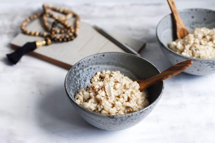 Zen Breakfast // Himmlisches Porridge aus braunem Reis