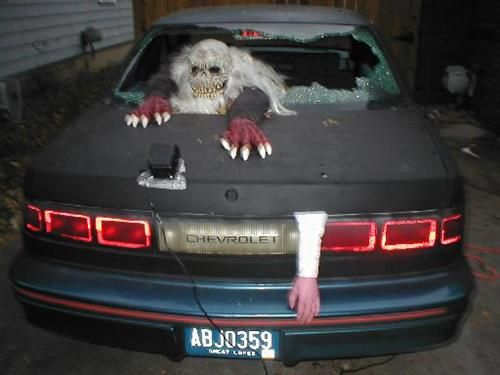 halloween hits the road