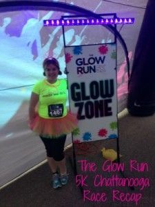 The Glow Zone: The Glow Run 5K Chattanooga Race Recap