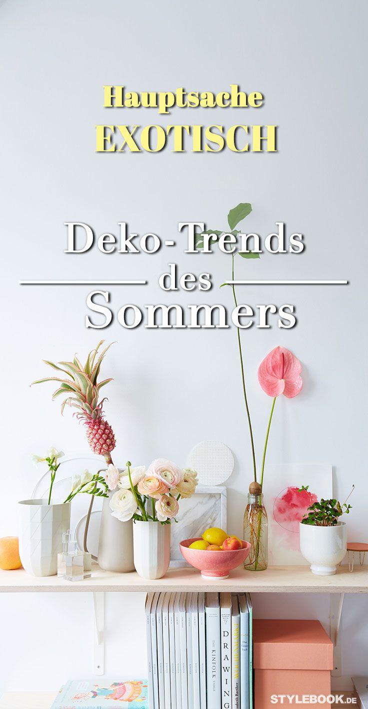 Das Sind Die Deko Trends Des Sommers