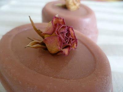 Rózsás szappan - Rose soap