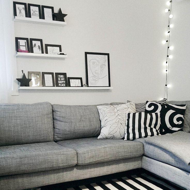 Scandinavian livingroom.