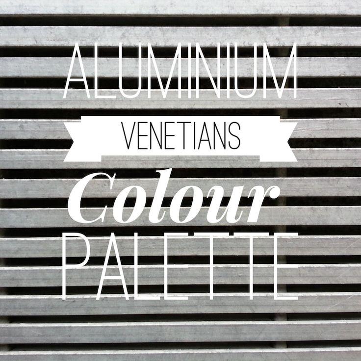 Aluminium Venetian Blinds Colour Palette