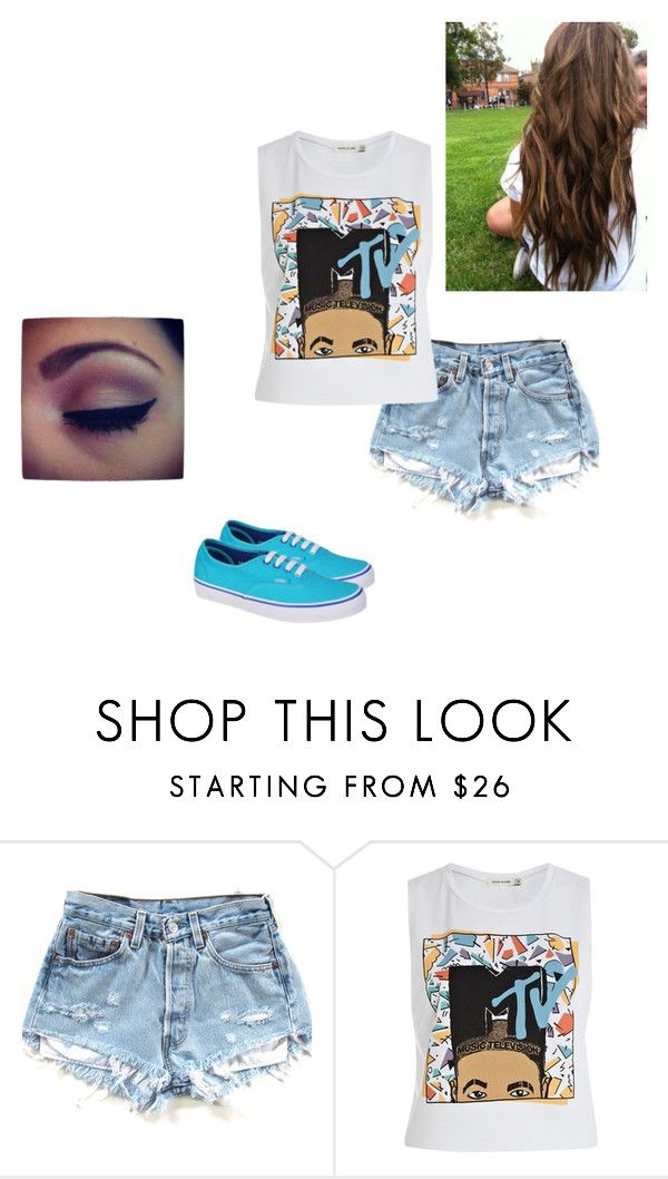 """first you get a swimming pool full of liquor then you dive in it"" by bmarie20 ❤ liked on Polyvore featuring River Island and Vans"