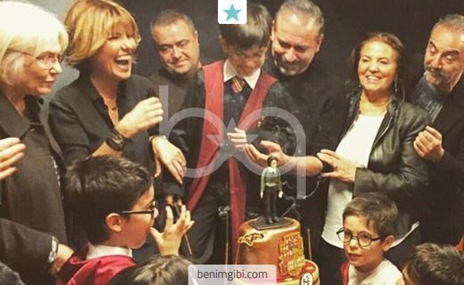 Gülben Ergen ve Mustafa Erdoğan'ın oğulları Atlas'ın doğum gününde neler yaşandı...