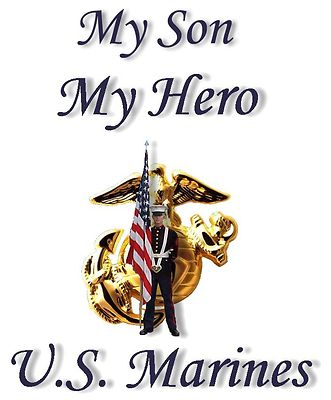 my son the marine Before my son became a marine, i never thought much about who was defending me now when i read of the war on terrorism or the coming conflict in iraq, it cuts to my heart.