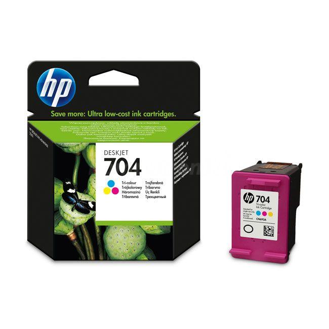Tusz do drukarek HP No. 704 (CN693AE) tri-color do DJ AiO 2060, wyd. do 200 str. #OfertaDnia | 26.06.2014 http://bit.ly/Vq2BWj