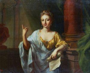 The Nine Muses - Polyhymnia (Rhetoric) - Johann Heinrich Tischbein the Elder - The Athenaeum