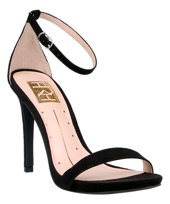 Black Lilith Ankle-Strap Sandal