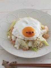 ひよこデコのガーリックシーフード塩焼そば by momo** 【クックパッド】 簡単おいしいみんなのレシピが276万品