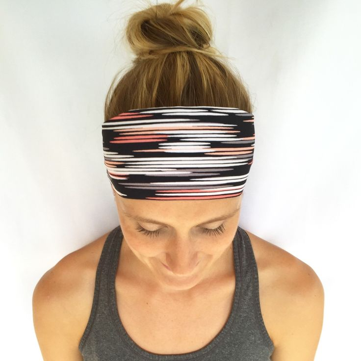Fitness Headband - Workout Headband - Exercise Headband - Yoga Headband - Midnight Rising by FitNorthWest on Etsy https://www.etsy.com/listing/238278524/fitness-headband-workout-headband