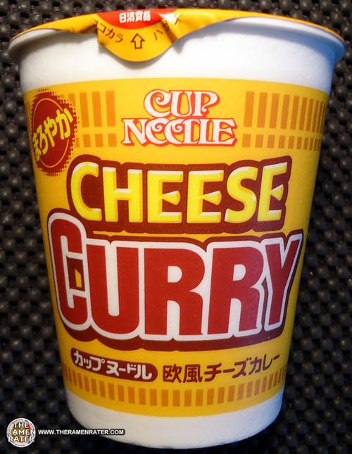 #1307: Nissin Cup Noodles Cheese Curry | The Ramen Rater
