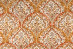 Ballard in Apricot Printed Textured Cotton Drapery Fabric by Mill Creek Raymond Waites$9.95 per yard