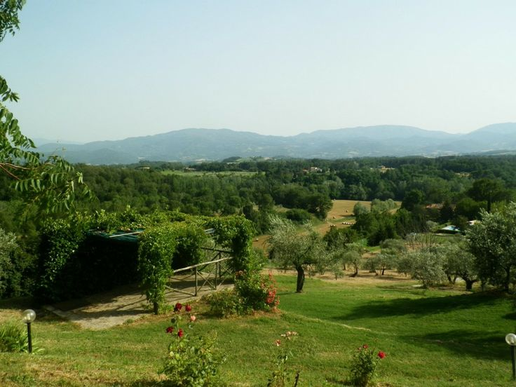 View from Villa Montagna and Mugello (Tuscany, Italy) - special offer 18-30 May 2013, less than Euro 20/night/person for 12 remarkable days in Tuscany in this house from 1629 with private pool!