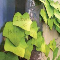 Kawaii notas adhesivas Hojas post it pegatinas de la Hoja de Arce Creativo nota de papel bloc de notas papelería suministros de oficina papelaria