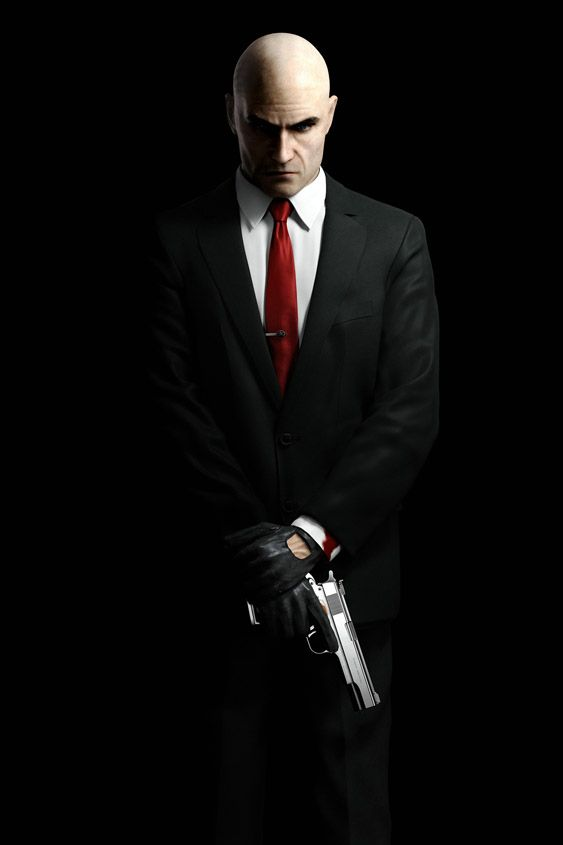 Agent 47, this would be an awesome phone wallpaper...