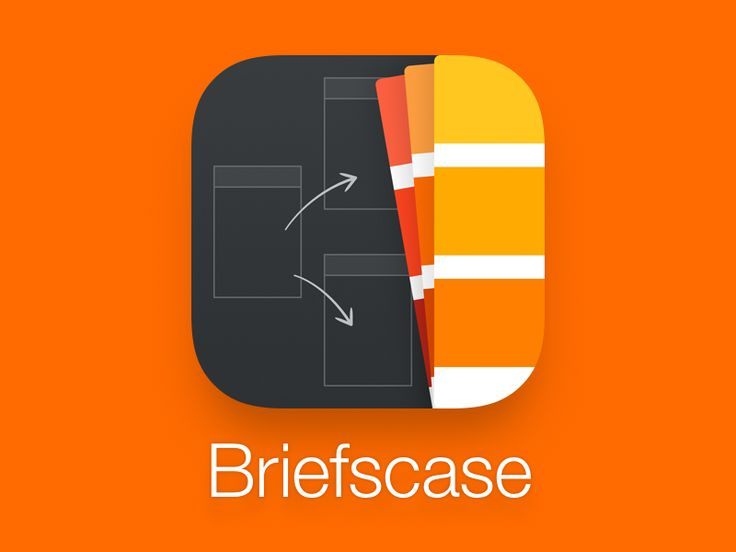 Briefscase App Icon by Louie Mantia for Pacific Helm