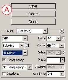 GIF Optimization Settings