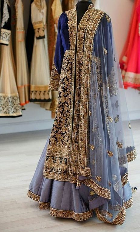 anarkali suit - for query whatsapp +917696747289 visit us at https://www.facebook.com/punjabisboutique #anarkali #suits #suit #Embroidered #boutique #design #wedding #suit #bridal #suits #lehenga #designer