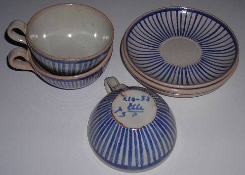 ELLE- kopper + skåler, Rondane Brukt  Antikk