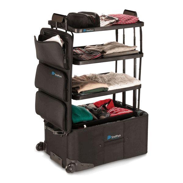 Fancy | ShelfPack Built in Shelves Suitcase