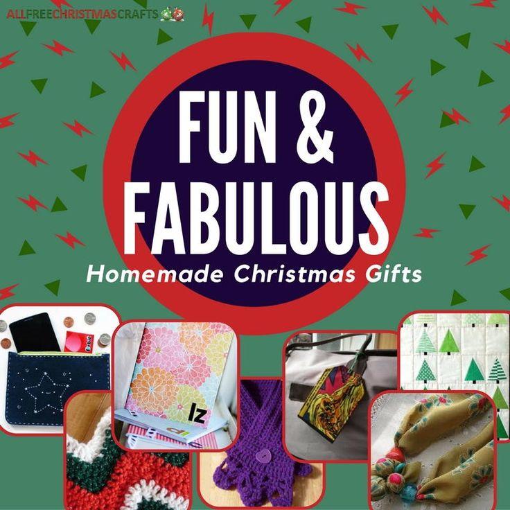 22 Fun & Fabulous Homemade Christmas Gifts