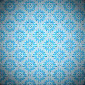 Free blue vector pattern