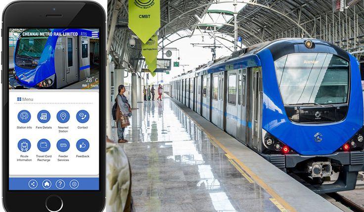 Chennai Metro Launches Its Mobile App For Android Phones #RailAnalysis #Metro #News #Rail