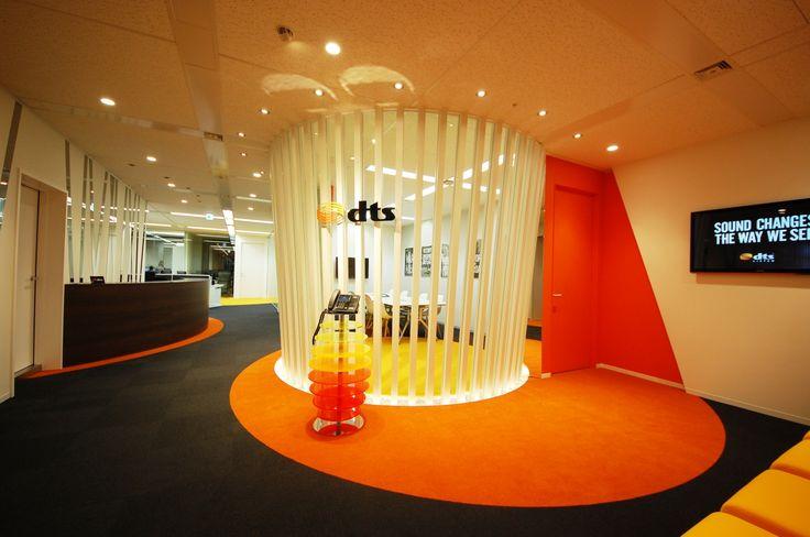 音の波紋が広がるオフィス|オフィスデザイン事例|デザイナーズオフィスのヴィス