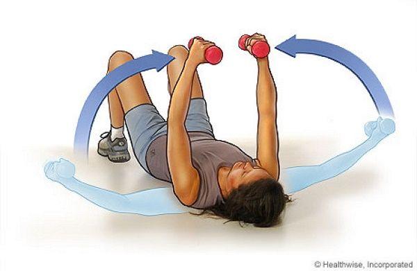 Exercícios para firmar e levantar os seios | Cura pela Natureza.com.br