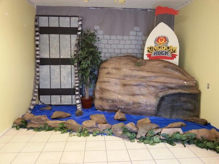 Vacation Bible School #VBS Kingdom Rock #Craft