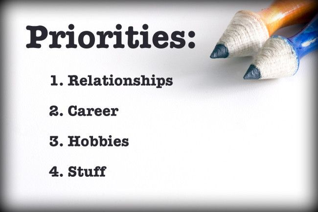 7 Steps to Setting Life Priorities