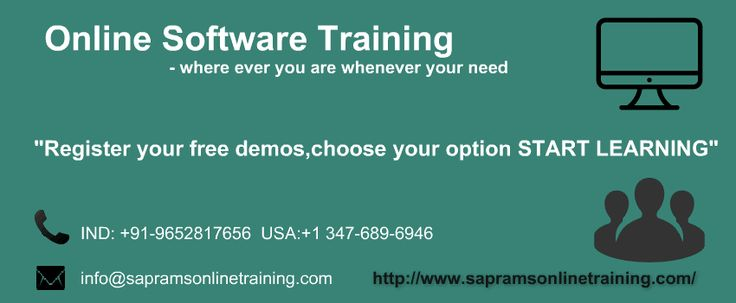 SAP RAMS ONLINE TRAINING is specialized in online trainings, which are designed to allow students to enhance their knowledge and skills in various technologies.  More... http://www.sapramsonlinetraining.com/  #saponlinetraining #oracleappsonlinetraining