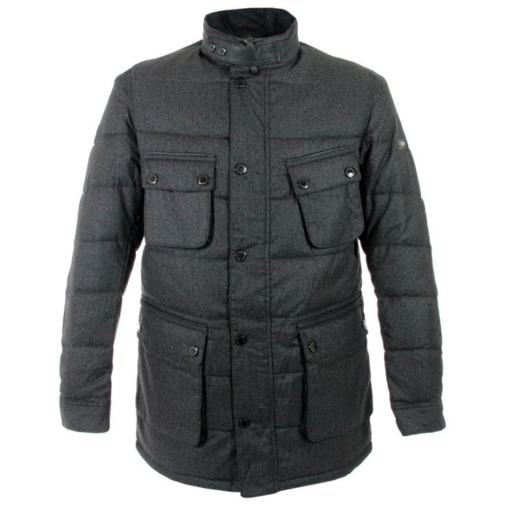Barbour International Barbour Bootle Charcoal Quilted Jacket ... : barbour international quilt - Adamdwight.com