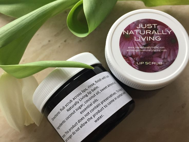 Our peppermint lip scrub is perfect for scrubbing away dead skin on your lips.  Apply a fingertip amount to lips, rub in a circular motion, rinse pat your lips dry. Finish with Just Naturally Living lip balm.  Ingredients: Coconut sugar, fractionated coconut oil, sweet almond oil, essential oils.