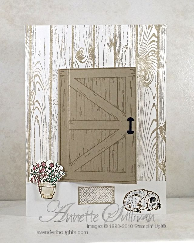 Different ways with the Barn Door Bundle – Lavender Thoughts  Visit my blog to see what is behind the door!