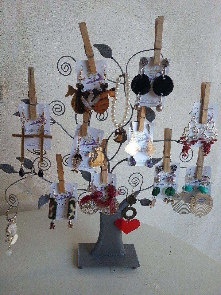 Serie di orecchini per idee regalo  natale. Da 13 euro