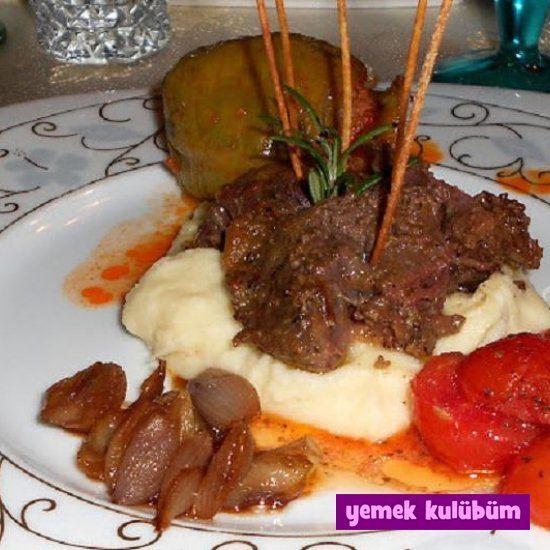 Havuç Soslu Dana Salçalı Biftek
